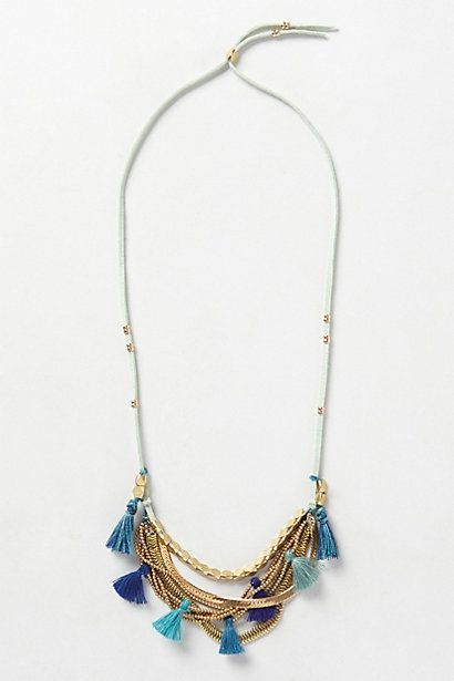 Loving the blue ombre tassels!