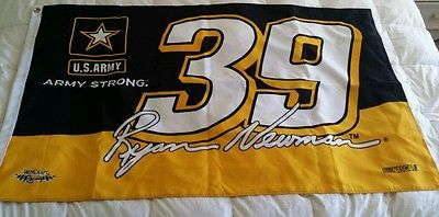 Ryan Newman #39 Nascar US Army Wincraft Official Racing Flag Banner