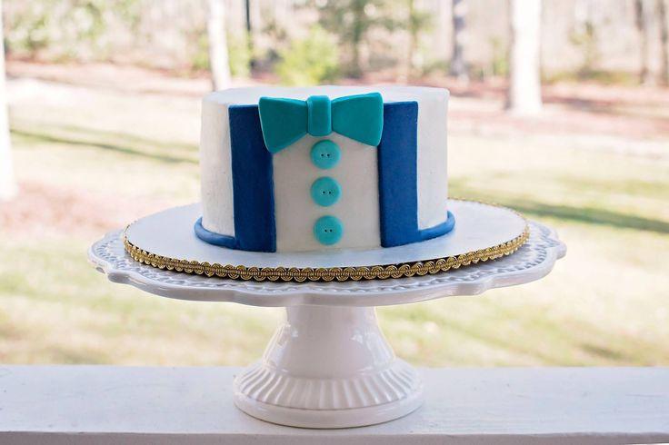Bow tie smash cake                                                                                                                                                                                 More