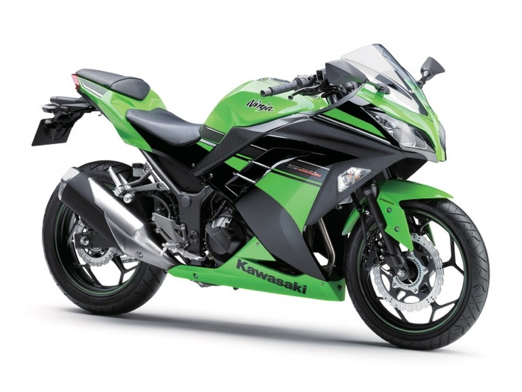 Kawasaki's 39 horsepower Ninja 300 bonsai superbike