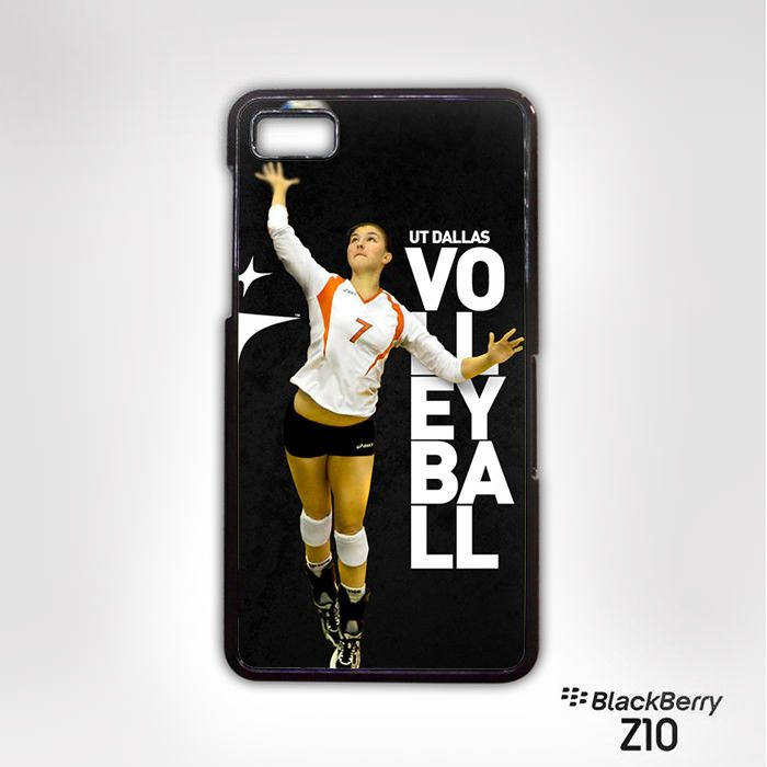 UT DALLAS Volley Ball for Blackberry Z10/Q10 cases