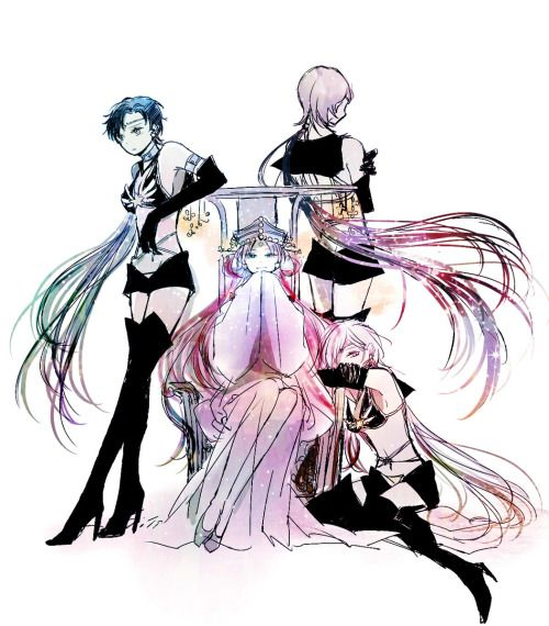 Sailor Moon: Princess Kakyuu and the Sailor Stars