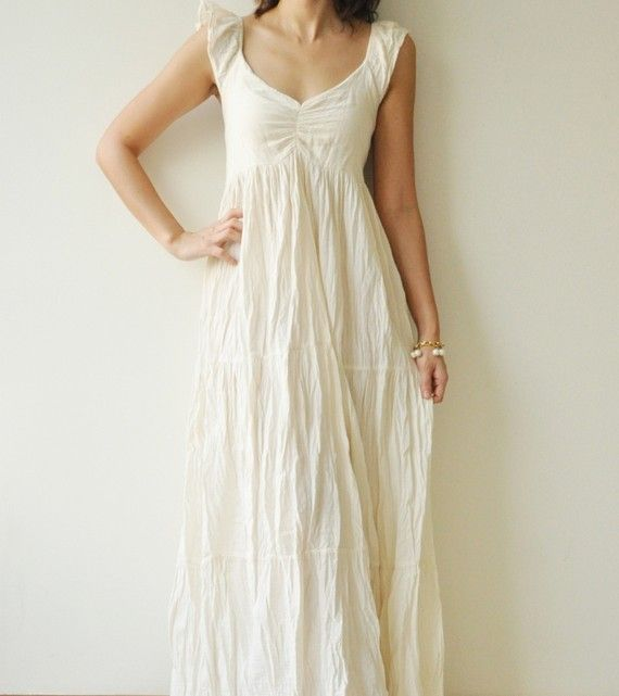 25  best ideas about White cotton dresses on Pinterest | White ...