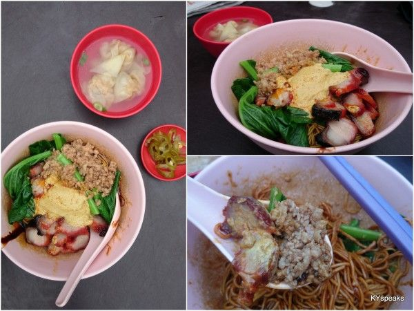 Wantan Mee Stall (separate stall from the Hakka Mee Stall) @ Wai Sek Kai @ Jalan Sayur, Off Jalan Pudu, 55100 Pudu, Kuala Lumpur GPS: 3.135208, 101.713051 Hours: breakfast - courtesy of KYspeaks