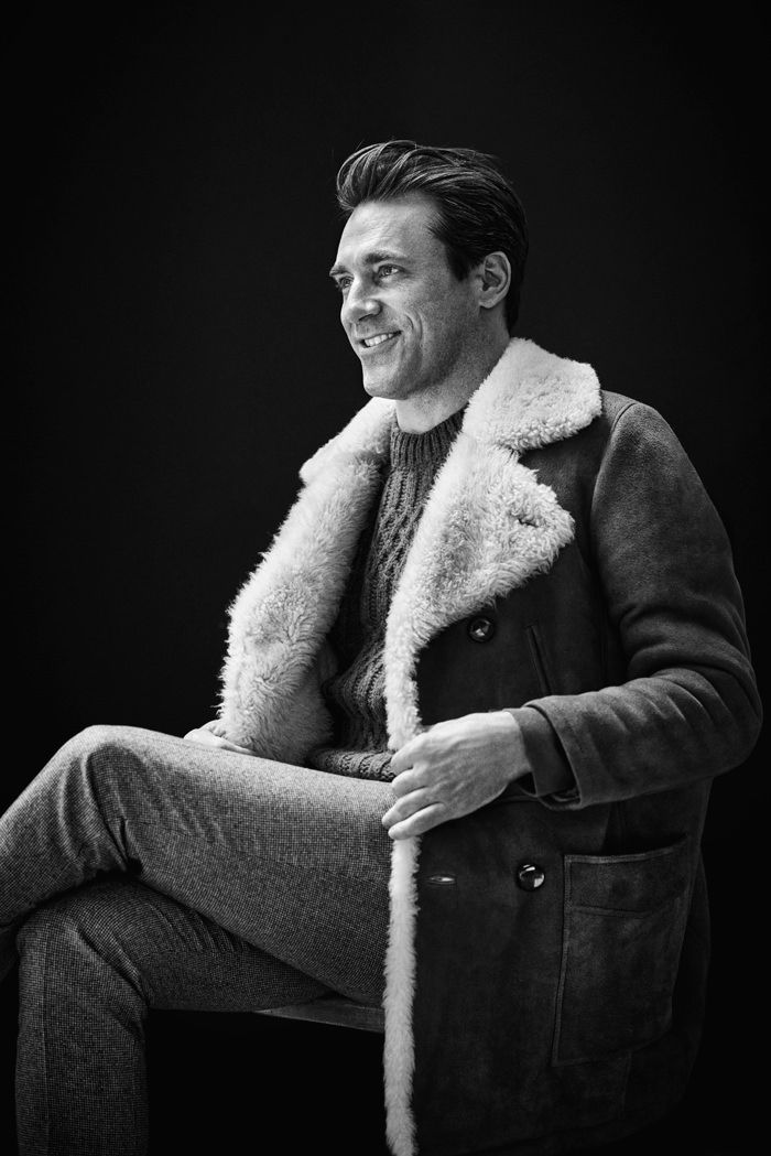 Jon Hamm for Mr Porter.