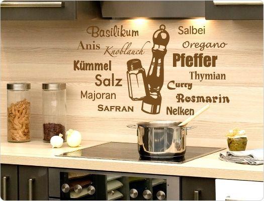 Wandtattoo Küche, Deko Küche