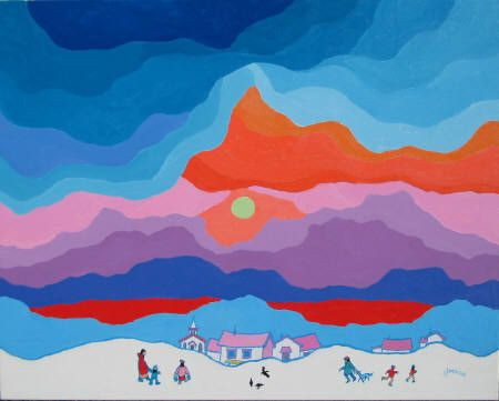 Ted Harrison = A Merry Morning