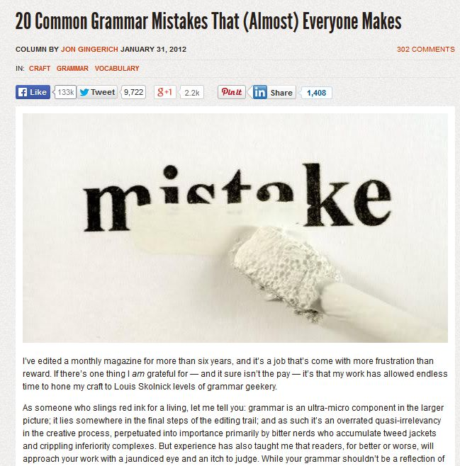 7 Design Mistakes To Avoid In Your Hall: 20 Common Grammar Mistakes That (Almost) Everyone Makes