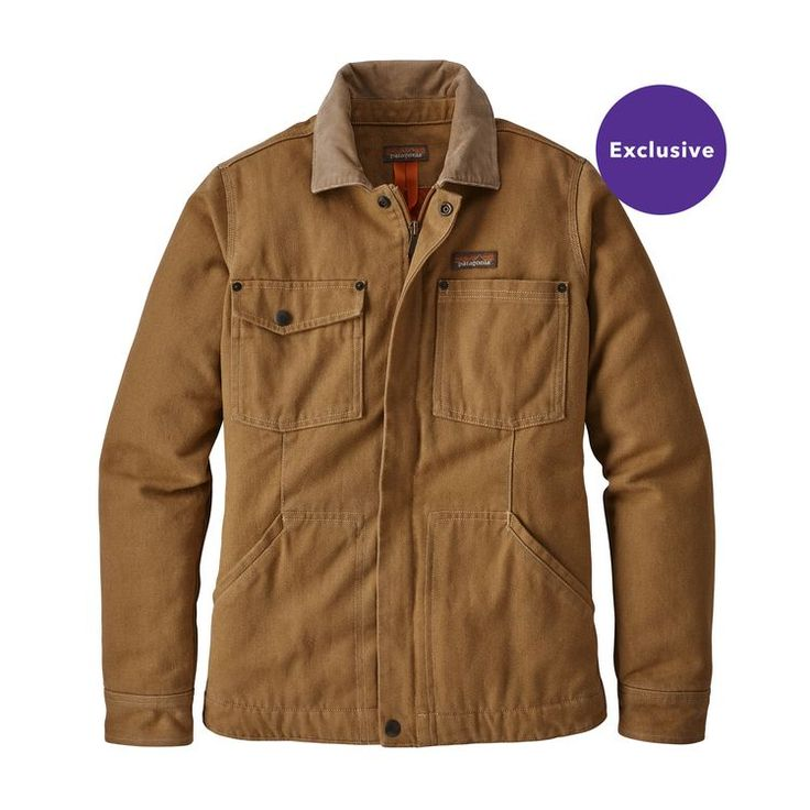 W's Iron Forge Hemp™ Canvas Barn Coat, Coriander Brown (COI)