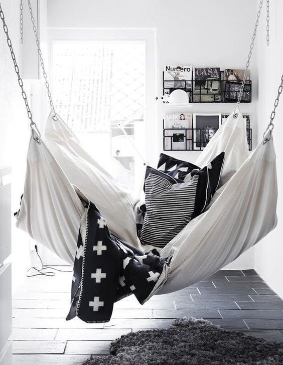 bring the outdoors in living room hammocks u0026 hanging chairs hammock ideasindoor