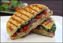 Cheesy Turkey Artichoke Panini for WAY less than 300 calories. Take ...
