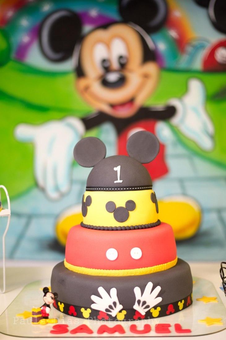 MINNIE & MICKEY. Disney Mickey Cake.