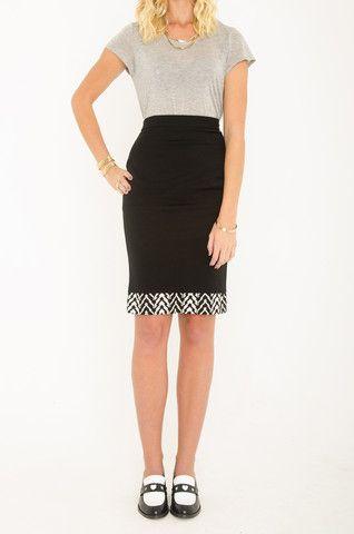 Mardle - Talk To Me pencil skirt
