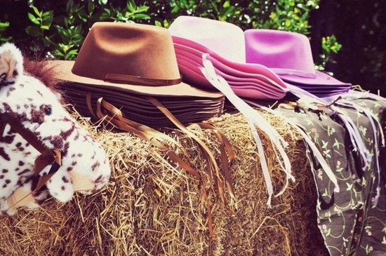 Kids' Cowboy Hats: Jill scored these kids' cowboy hats at Dollar Tree for $1 each!