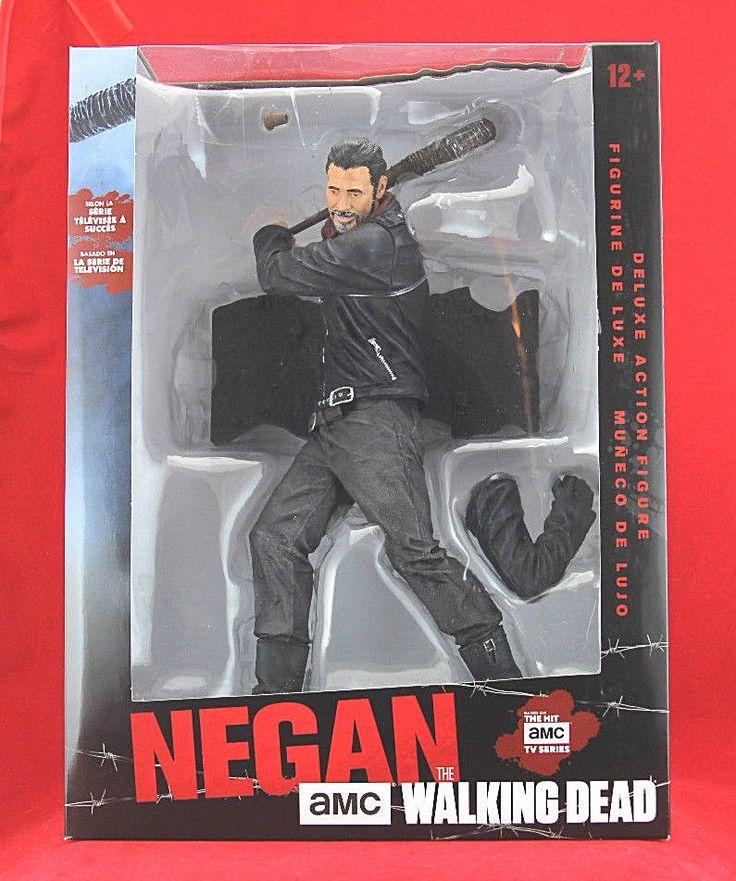 "AMC McFarlane The Walking Dead Negan Lucille Limited Jumbo 10"" Deluxe Figure #McFarlaneToys"