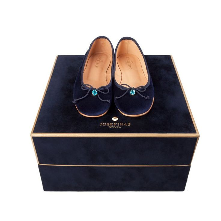 Top 5 blue topaz jewels: November's birthstone.  These handmade ballet flats are embellished with blue topaz.