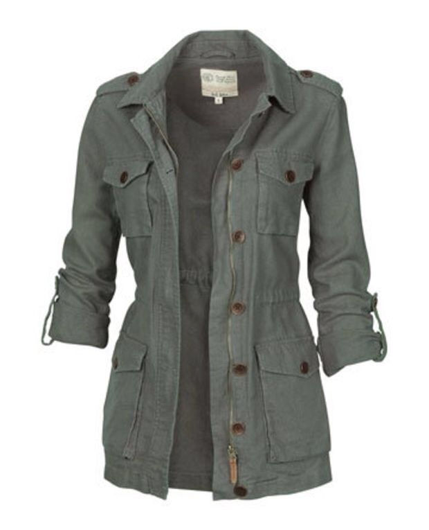 Already have a few different colors of this style jacket, but so cute!!