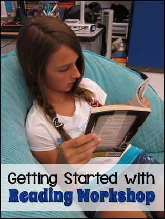 How to get started with Reading Workshop - Loads of resources from Laura Candler including free printables, links to professional books, a free reading workshop webinar, and more!