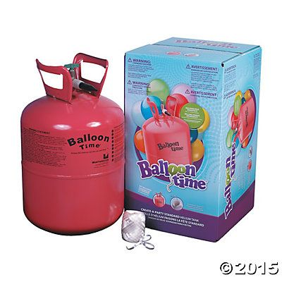 Small Helium Tank