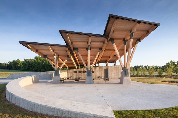 Image 1 of 14 from gallery of Arkansas State Veterans Cemetery at Birdeye / Fennell Purifoy Architects. Photograph by Ken West