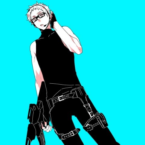 Tsukki would totally be a sniper cause he hates the rush and stress of using the other guns and the mess