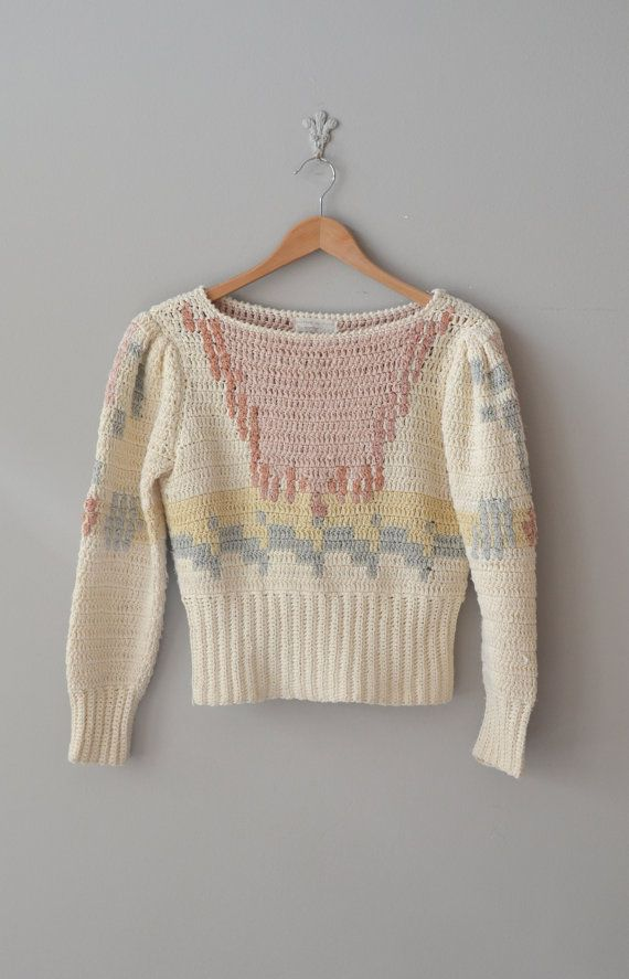 hand knit silk sweater