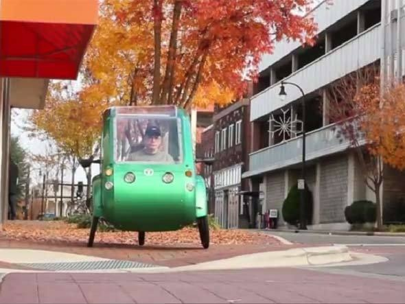 Elf, veículo híbrido criado pela startup Organic Transit