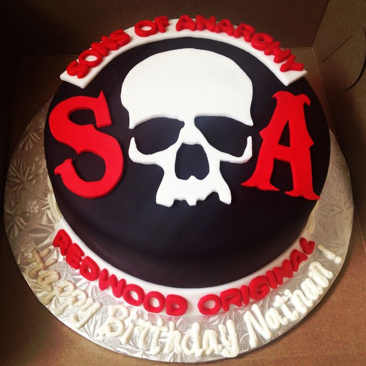 Soa Sons Of Anarchy Cake Pascale S Bakery