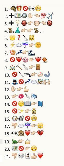 Refranes con los emoticones del WhatsApp #chiste
