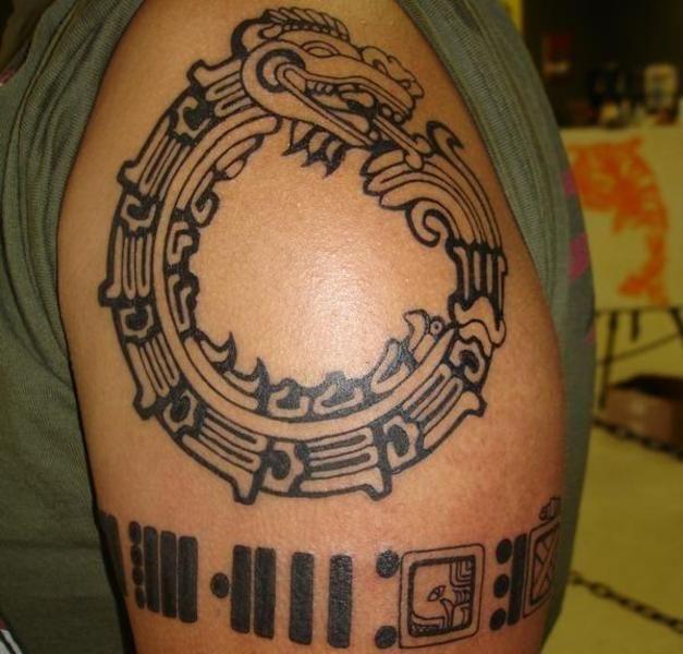 Tatuajes tribales mayas 3
