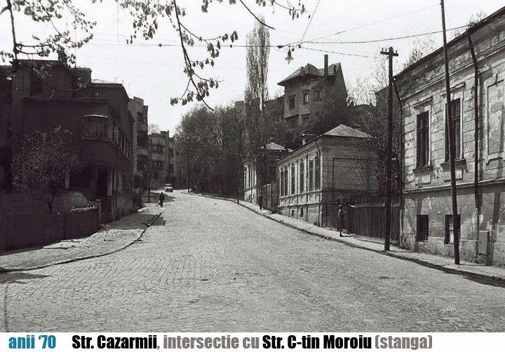 Cartierul demolat Uranus - acum Casa Poporului (move the cursor on the picture)