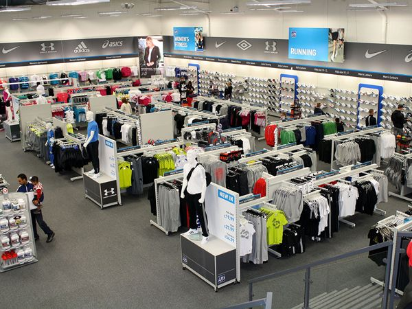 Sports Store | Retail Design | Shop Interior | Sports Display | JJB Sports Concept Store before they folded....real shame as these stores were really moving in the right direction.