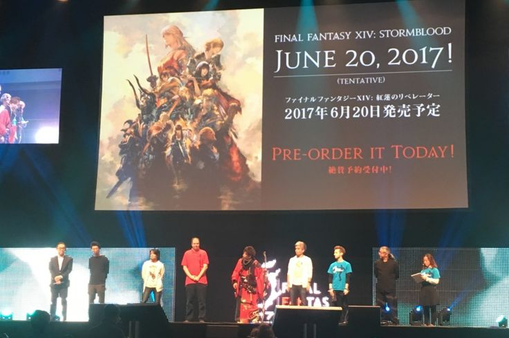 Eventbericht: Final Fantasy XIV Fan Festival 2017 in Frankfurt vom 18. bis 19. Februar 2017 bei dem das neue AddOn Stormblodd im Final Fantasy XIV Onlinespiel vorgestellt wurde. Stormblood erhältlich ab 20. Juni 2017