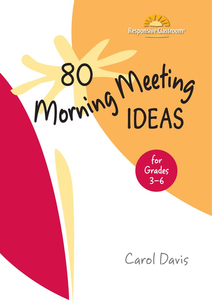 Here's a Morning Meeting activity idea from 80 Morning Meeting Ideas for Grades 3–6, by Carol Davis: Encore! Students team up to connect vocabulary words with favorite songs. How to do this group activity: Place students into small groups of four or five. Call out a word or topic related to a unit of study Read More »