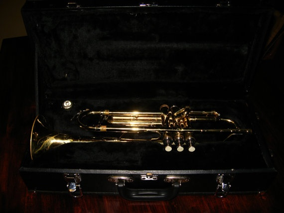 Weril Trumpet With Case and Bach Mouthpiece Looks by GabesTrumpets, $275.00