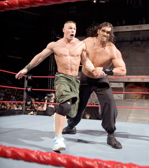 John Cena vs. The Great Khali