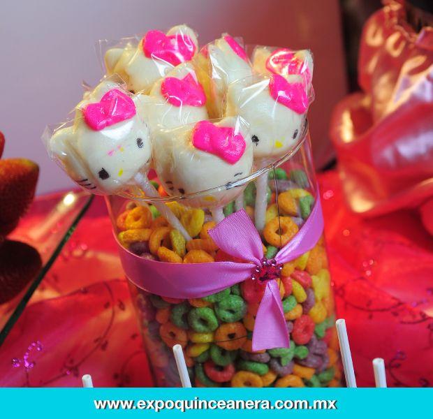 Lo dulce no puede faltar en tu fiesta.