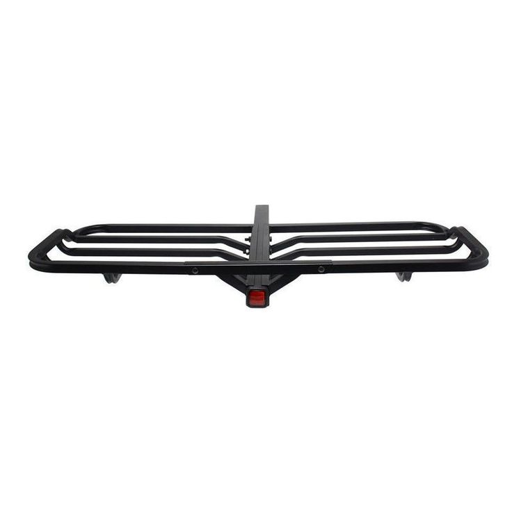 Pilot Automotive Tubular Receiver Mounted Cargo Rack, Black