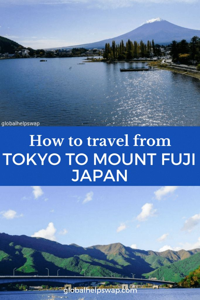 How To Get From Tokyo to Kawaguchiko – An amazing Trip to Mount Fuji