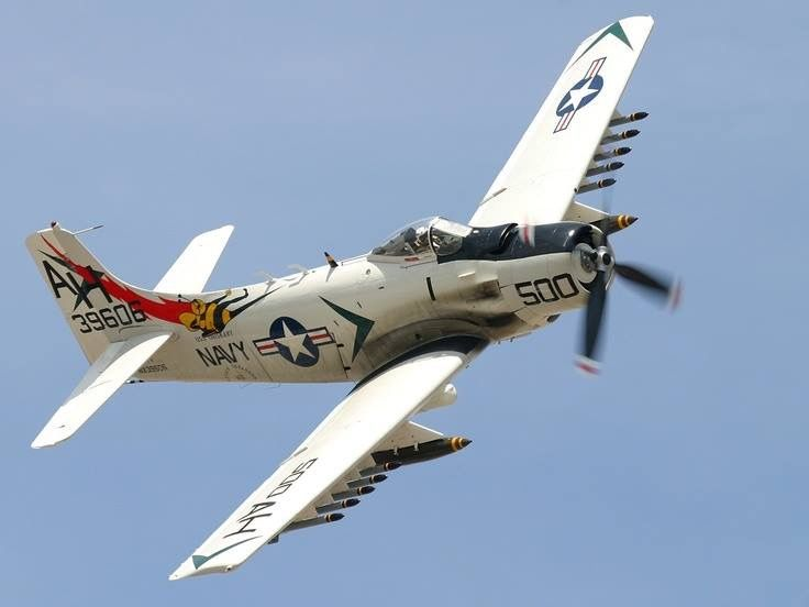 17 Best images about Douglas A-1 Skyraider on Pinterest ...