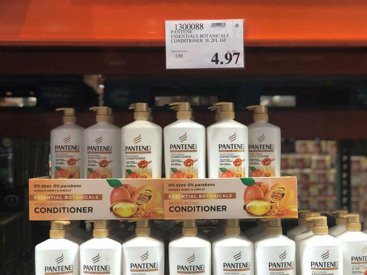 Pantene Essentials Botanicals Conditioner 4.97 costco