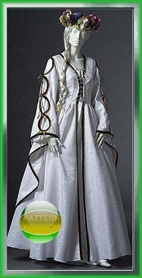 McCalls 4997 Renaissance Dress/Gown Pattern SCA LARP