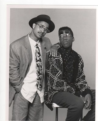 Darryl M. Bell ( Ron Johnson)  Kadeem Hardison ( Dwayne Wayne) Style was iconic for me. A Different World was the reason I went to a black college