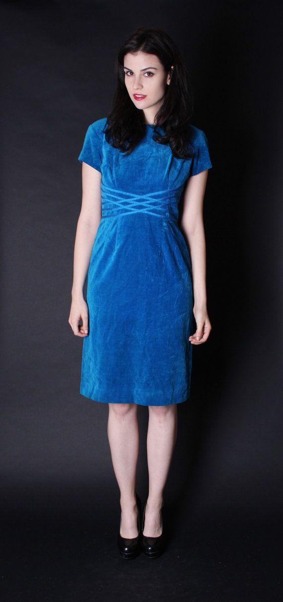 Image Result For Blue Velvet Dress Vintage