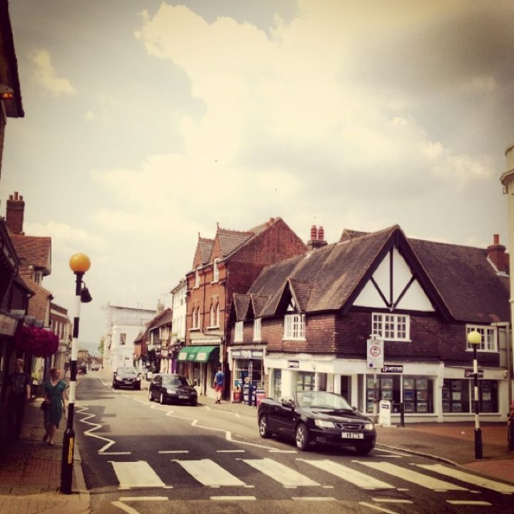 Sevenoaks, Weald, Kent, England. This is the town where I was born. 27/07/1959