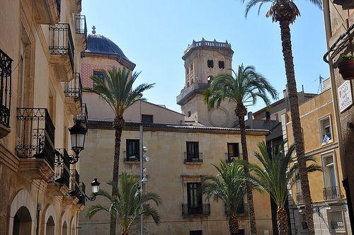 Plaza detrás del Ayuntamiento, Alicante