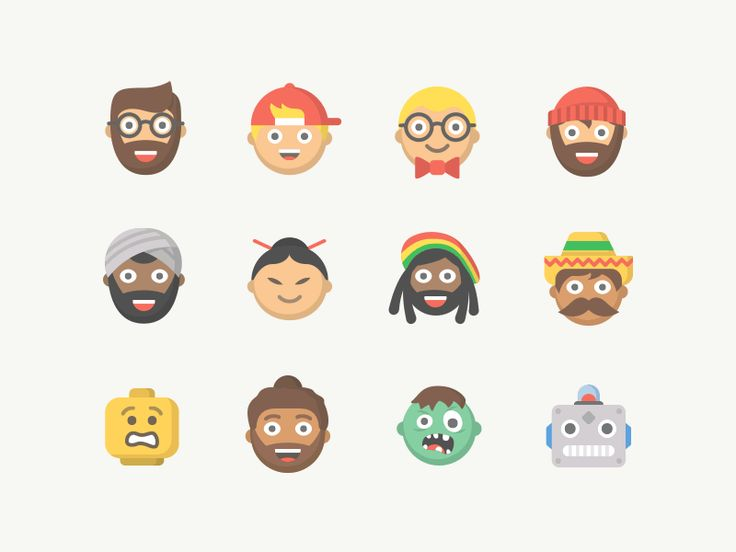 Had a ton of fun creating these little characters for the upcoming Moji App!  Check out the complete set of emoji people, and if you have any requests please comment them below!