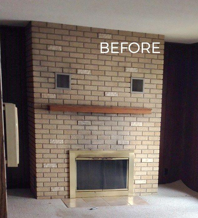 Painted Brickwork Interior