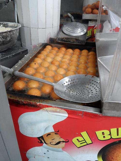Buñuelos de Bogotá Colombia Ummm Delicious...