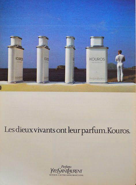 De la Pub et du Parfum: YVES SAINT LAURENT - Kouros